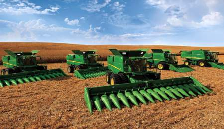 žemės ūkio technika, traktoriai
